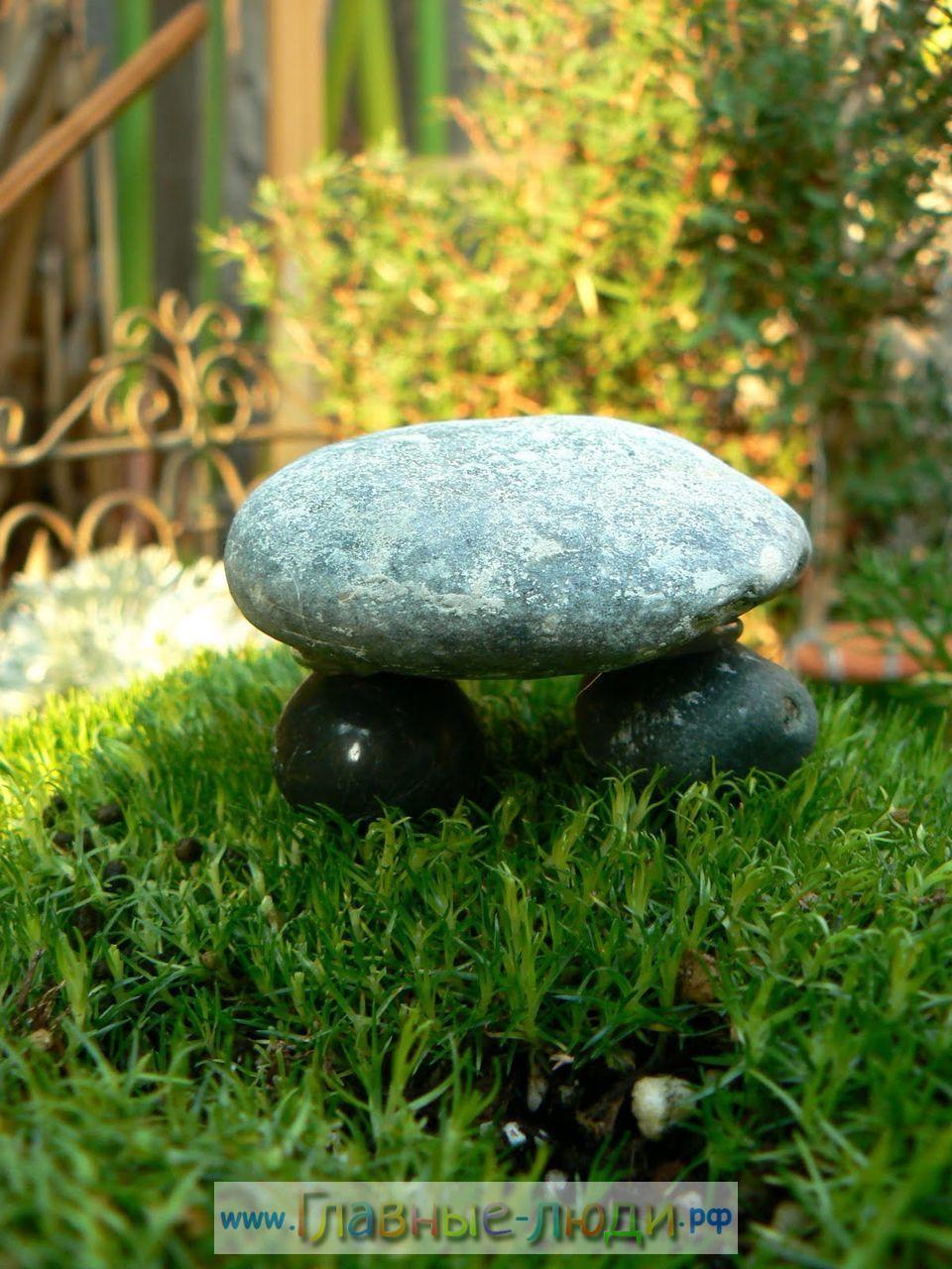 Фото поделок из камней своими руками