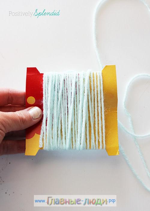 Как сделать помпоны из ниток своими руками, помпоны из ниток своими руками пошагово, как сделать помпоны своими руками мастер класс (13)