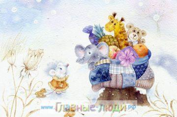 8 Иллюстрации Элины Репкиной, красивые добрые детские иллюстрации, красивые иллюстрации детям
